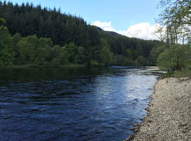 Scotland Offers Some Excellent Salmon Fishing